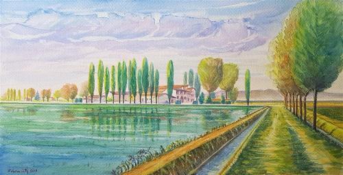 Risaia a Villa Macerata