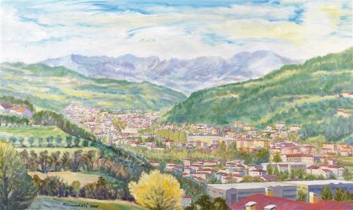 Veduta della Valle del Chiampo